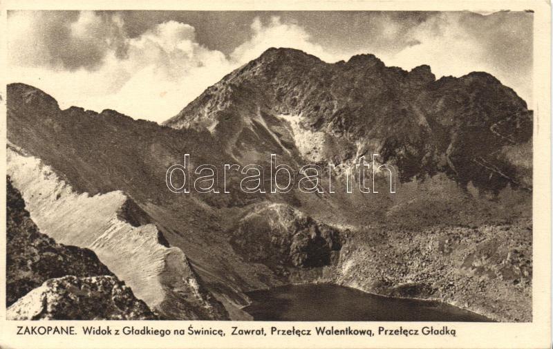 Zakopane, mountain peaks