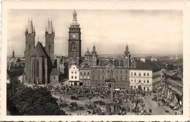 Hradec Kralove, Velké námesti o trhu / Great Market Square, dairy shop