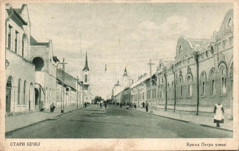 Stari Becej, street, Óbecse, utca