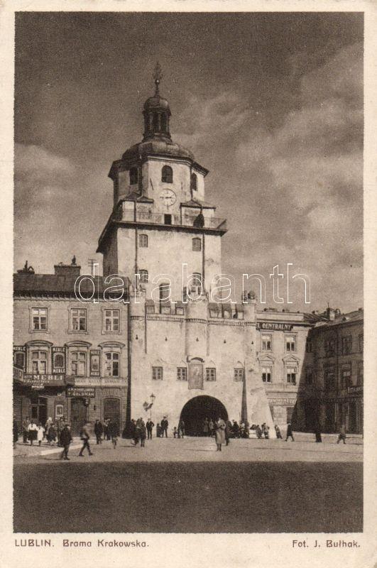 Lublin, Brama Krakowska, Mebli, T. Goldman, Hotel Centralny / gate