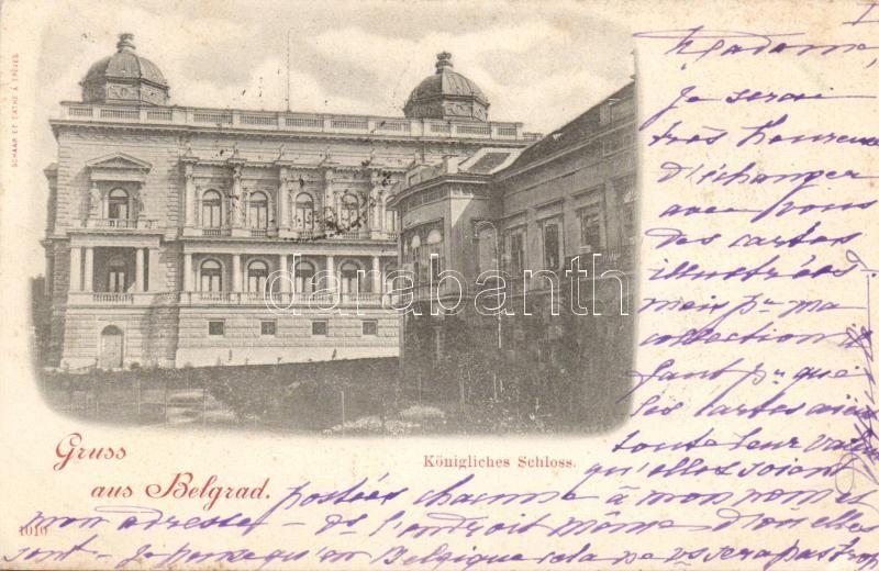 Belgrade, Königliches Schloss / royal palace