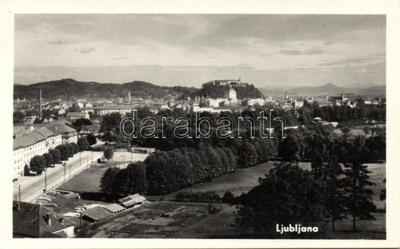 Ljubljana with the castle
