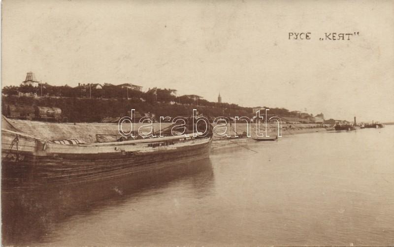 Ruse, Roustchouk; quay, ship