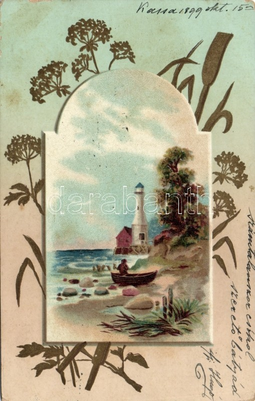1899 Lighthouse,  litho