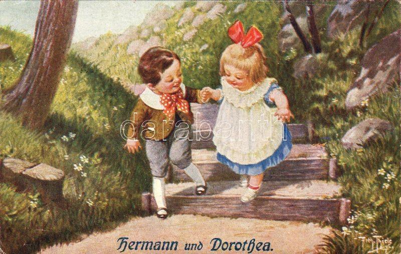 Hermann und Dorothea Nr. 259/8. s: Arthur Thiele