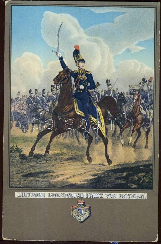 Luitpold, Prince Regent of Bavaria litho