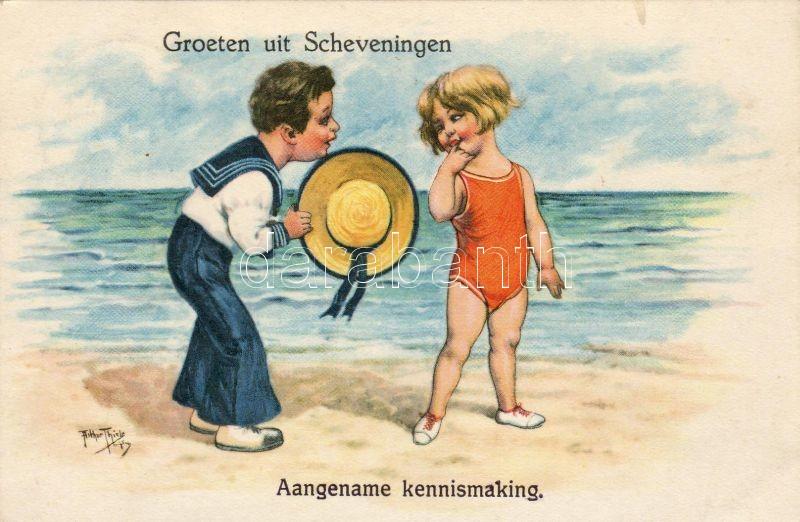 'Greetings from Scheveningen, Pleasent introduction' s: Arthur Thiele