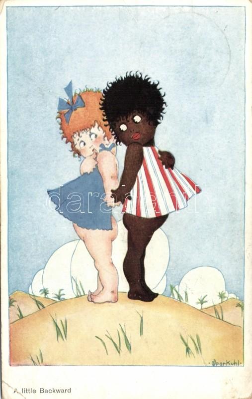White girl black girl s: Sparkuhl, Fehér és fekete kislány s: Sparkuhl