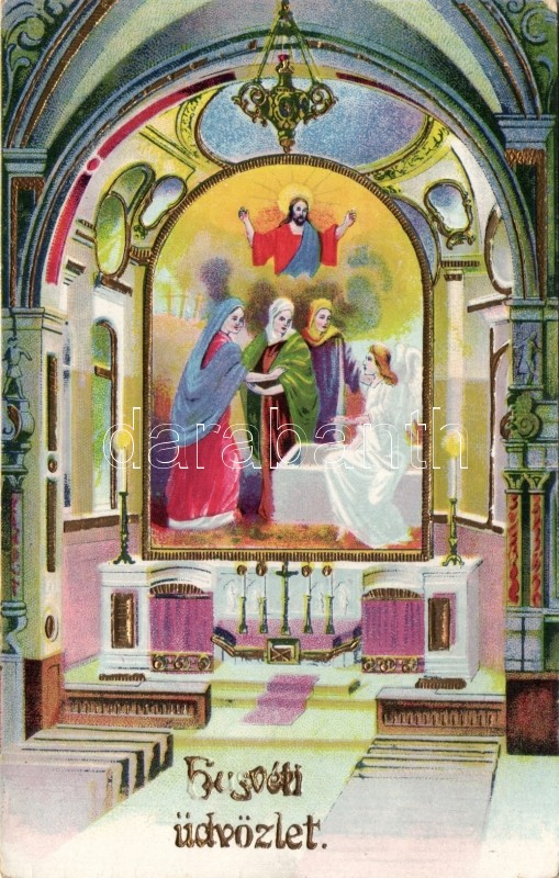 Easter litho, Húsvét litho