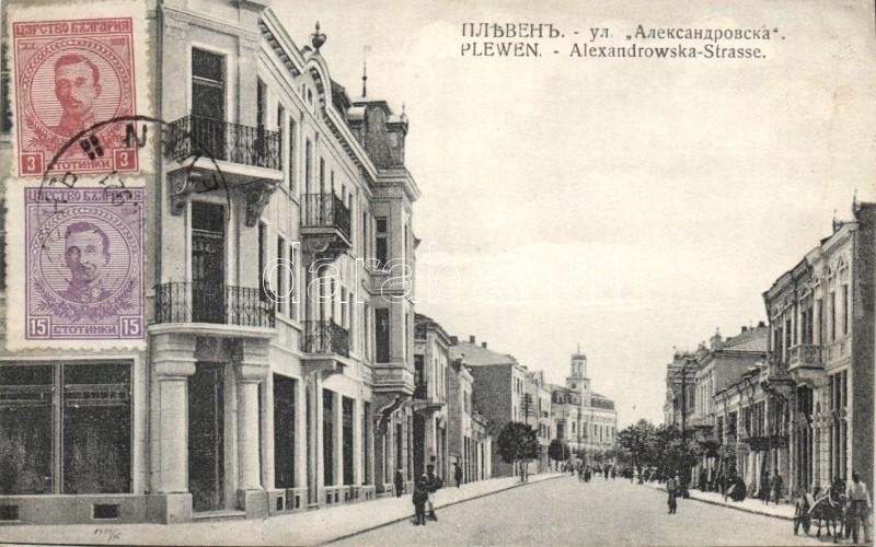Pleven, Alexandrowska Strasse / street
