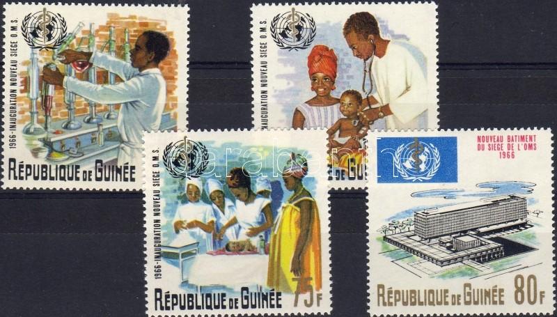 WHO set, Egészségügyi világszervezet sor, Weltgesundheitsorganisation Satz