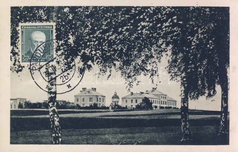 Lázne Bohdanec, Jezdecká kasárna / Cavalry barracks