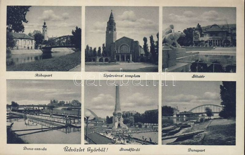 Győr, Kioszk hősi emlékmű, Gyárvárosi templom