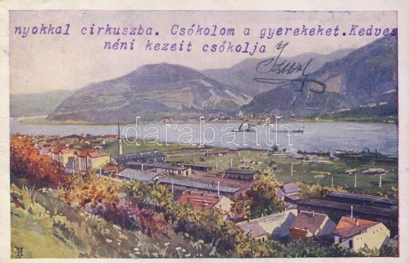 Orsova, Hungarian shipbuilding sites, Orsova, Magyar királyi Folyam és Tengerhajózási Rt. hajóépítő telepe