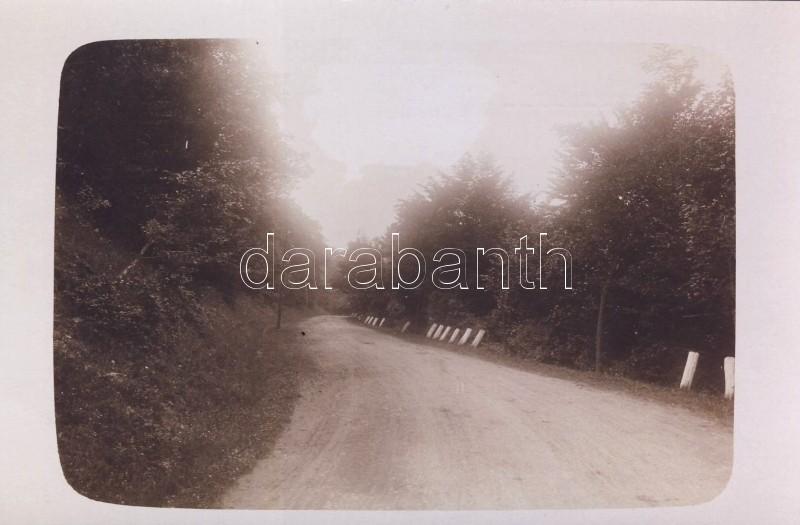 1908 Steinbach, road photo, 1908 Kőpatak, Bakabányai út photo