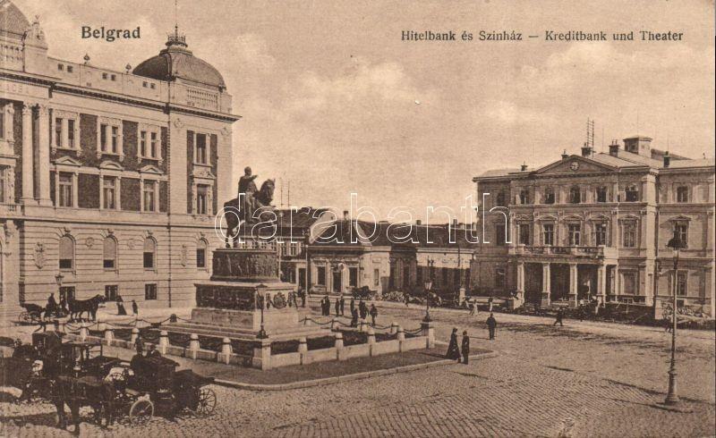 Belgrade, Kreditbank, Theater / bank, theatre