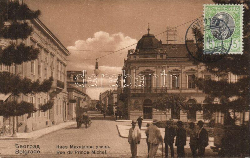 Belgrade, Rue Prince Michael / street