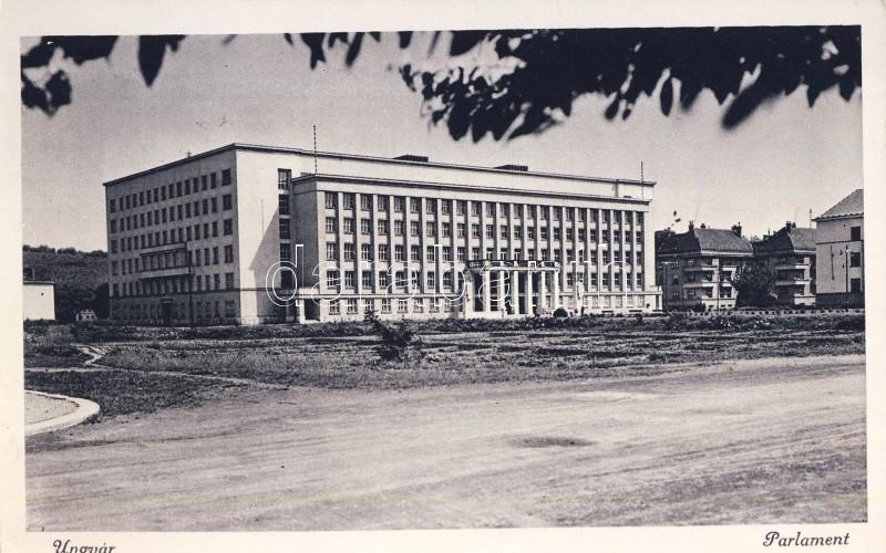 Uzhhorod, parlaiment, Ungvár, parlament