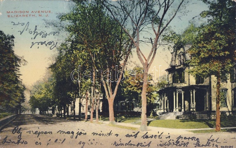 Elizabeth, Madison Avenue