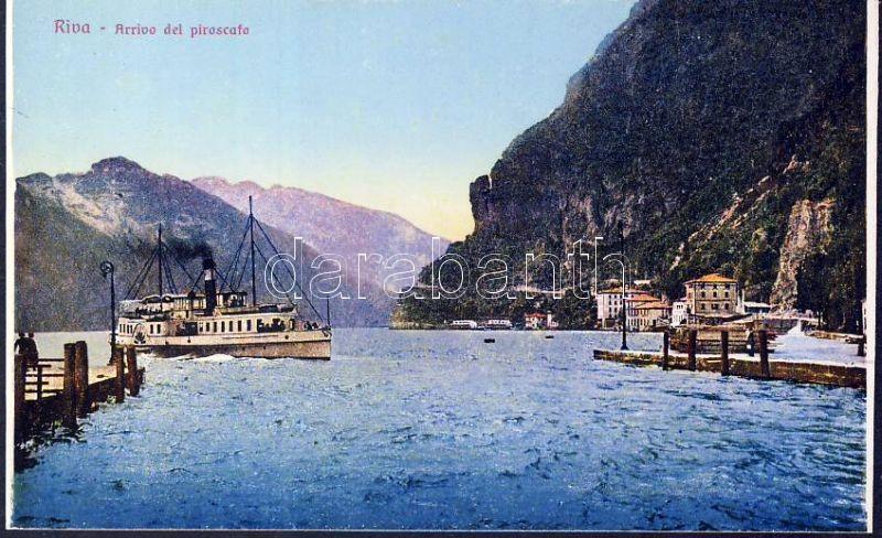 Riva del Garda, steamship