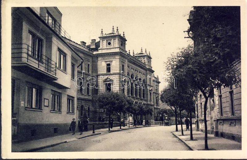 Komarno, Palace of Justice, Komárom, Igazságügyi Palota