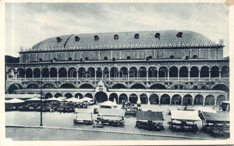 Padua, Padova; Palazzo della Ragione, Piazza Erbe / palace, square, market place