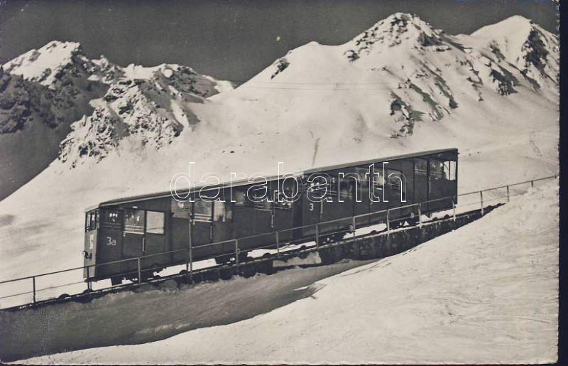 Davos-Parsenn Bahn, Schiahorn, Schafläger / funicular