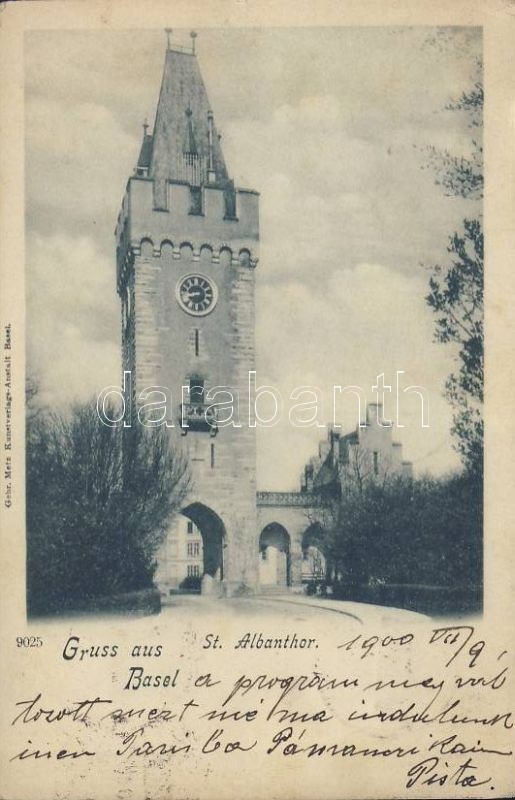 Basel, St. Albanthor / gate