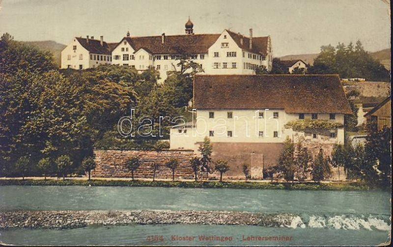 Wettingen, Kloster, Lehrerseminar / cloister, teacher training institute