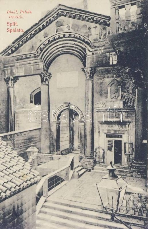 Split, Spalato; Diocletian´s Palace