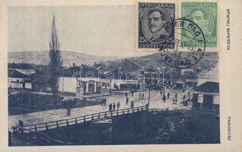 Leskovac, square