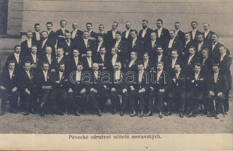 Singing Teachers' Association of Moravia, Moráviai Ének Tanárok egyesülete