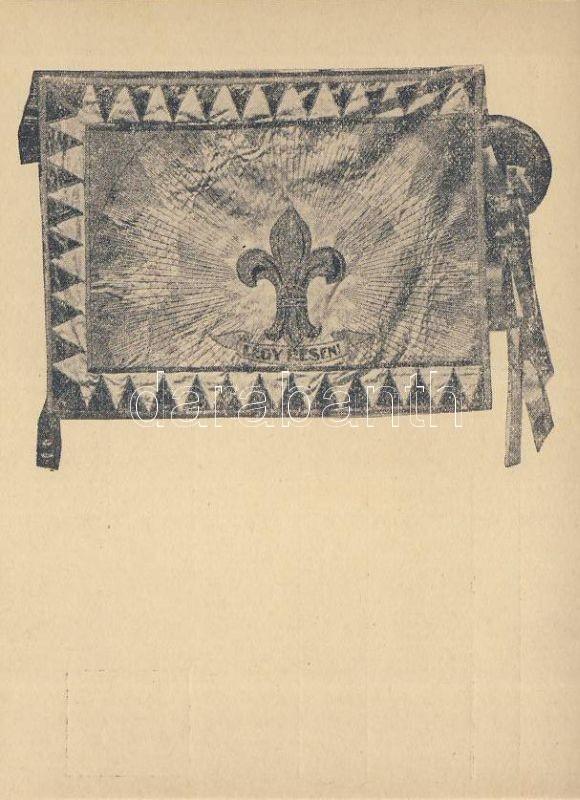 Scout flag 'No. 95. Lehel scout group', Cserkész zászló '95. sz. Lehel cserkészcsapat' kiadása