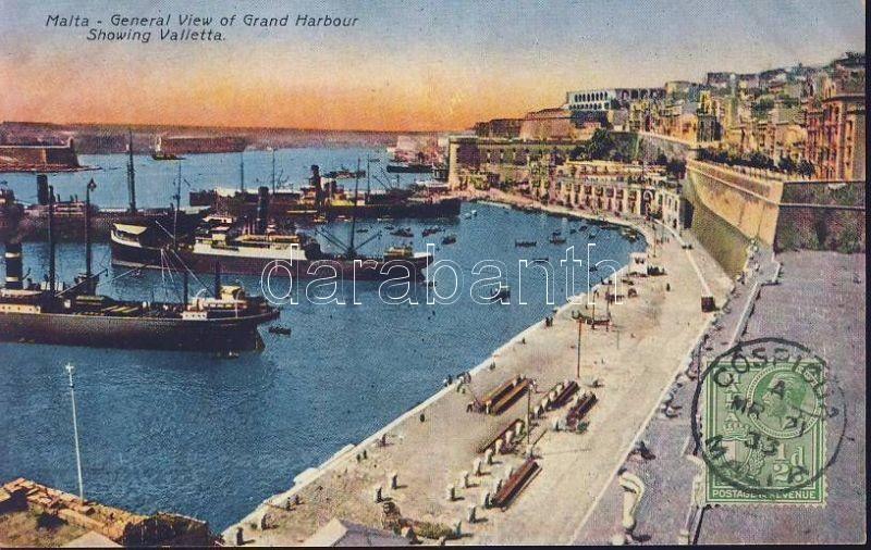 Valletta Grand Harbour