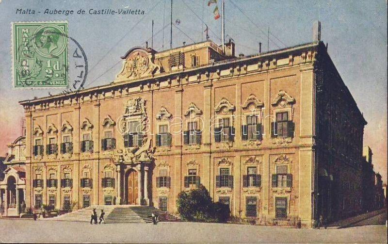 Valletta Auberge de Castille