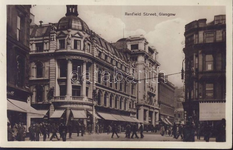 Glasgow Renfield street with the Forsyth