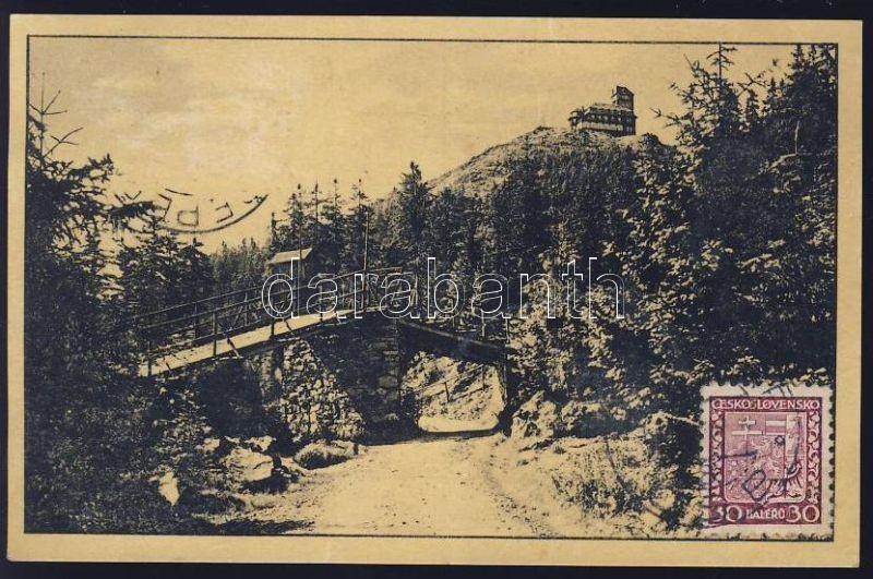 Jested, Jeschken, Rodeldbrücke / bridge