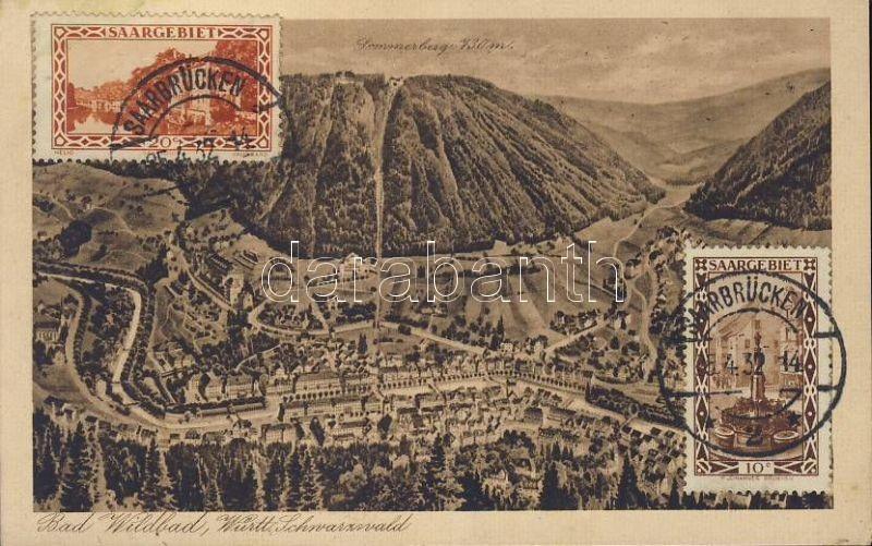 Bad Wildbad, Schwarzenberg mountain