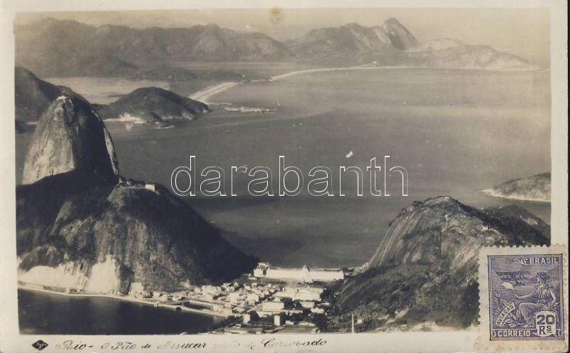 Rio de Janeiro, Morro do Pao de Acucar / Sugarloaf Mountain, Corcovado, photo