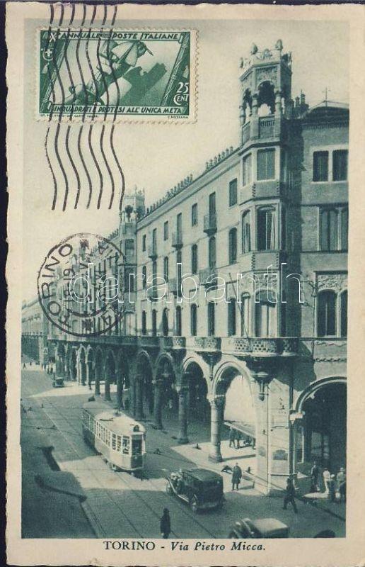 Torino Via Pietro Micca / street, tram