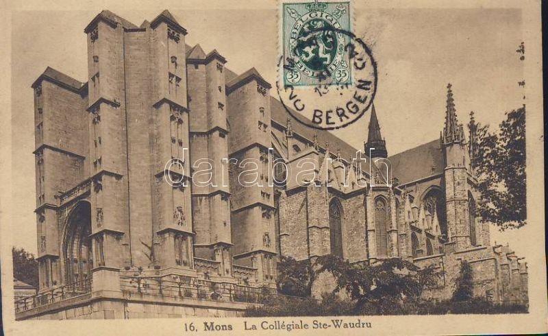 Mons, La collégiale Sainte-Waudru