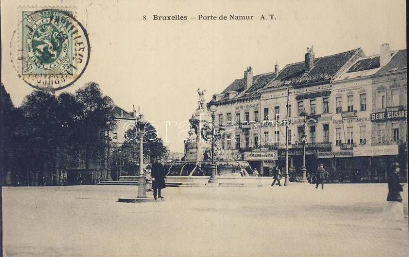 Brussels, Bruxelles; Porte de Namur, Cinema Royal, Restaurant Caves de Maestricht