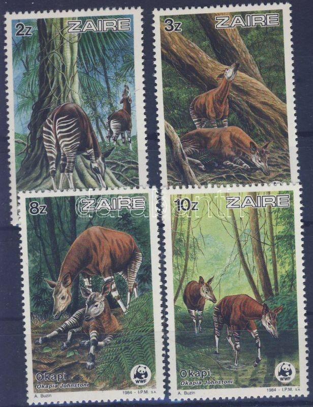 WWF Okapis set, WWF Okapik sor, WWF Okapi Satz