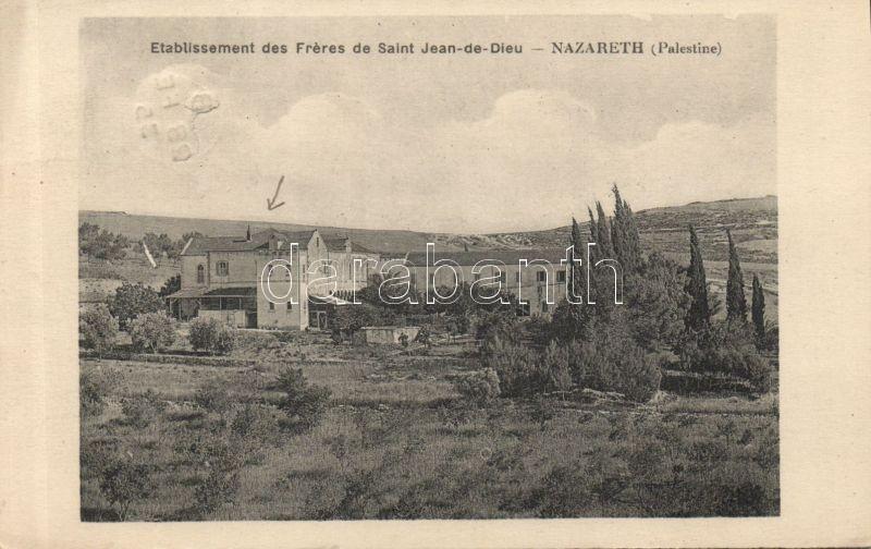 Nazareth, Etablissement des Freres de Saint Jean-de-Dieu /   school