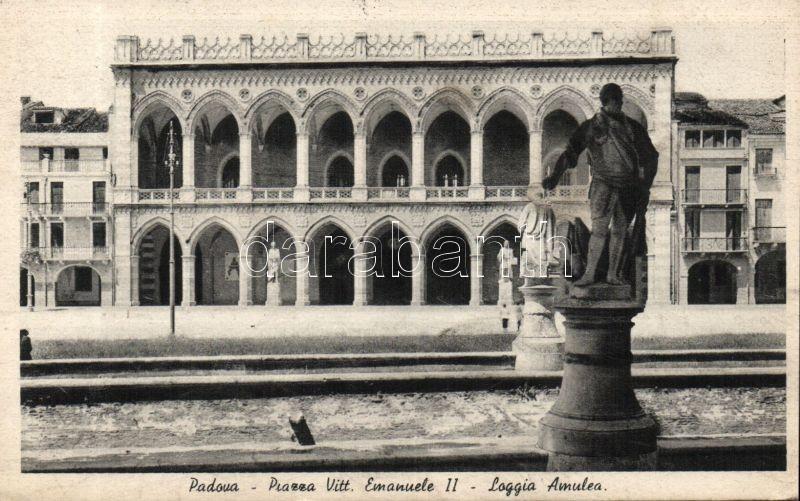 Padova Victor Emmanuel square