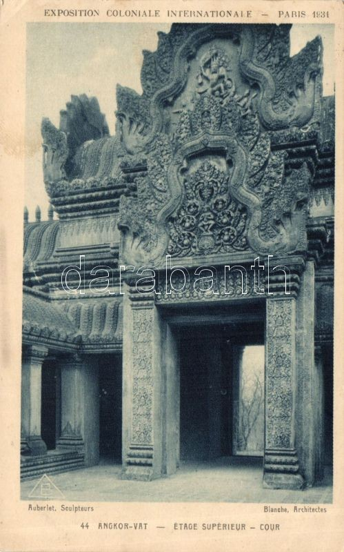 1931 Paris International Colonial Exhibition, Angkor Vat