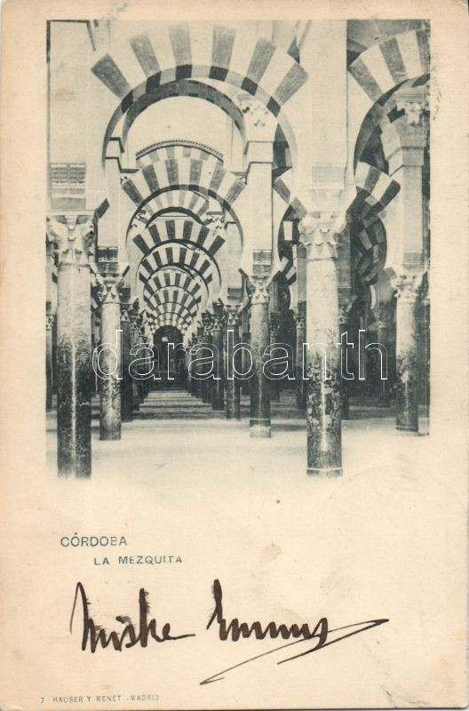 Córdoba, La Mezquita / mosque, interior