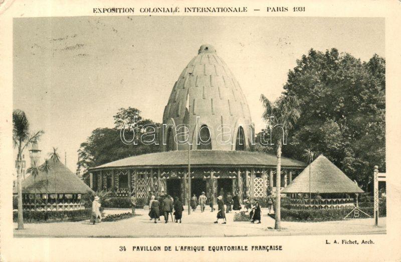 1931 Paris International Colonial Exhibition, Pavilion French Equatorial Africa