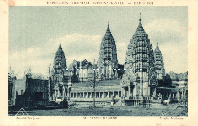 1931 Paris International Colonial Exhibition, Angkor D'Temple / church