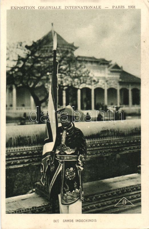 1931 Paris International Colonial Exhibition, Indochinese guard